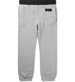 Undefeated Heather Grey Capitol Sweatpants Picutre