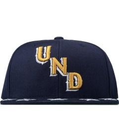 Undefeated Navy Star Snapback Cap Picture