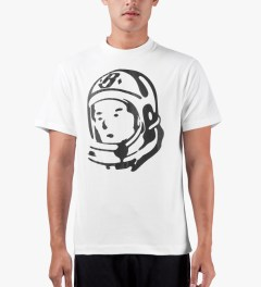 Billionaire Boys Club White S/S Classic Helmet T-Shirt Model Picutre