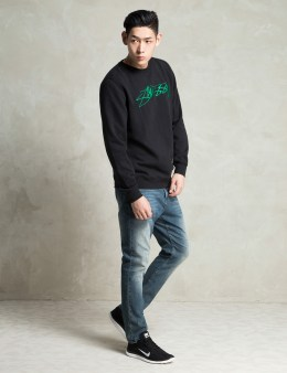 Stussy Black O.G. Stock EMB. Sweater Picture