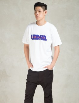 UNDEFEATED White Lead Off T-Shirt Picture