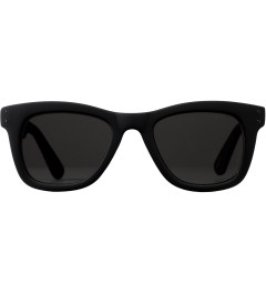 KOMONO Black Rubber Allen CZ Sunglasses Picture