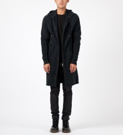 SILENT Damir Doma Black Jodum Sweatcoat Model Picture