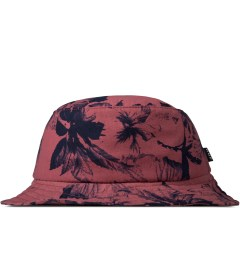 HUF Salmon Floral Bucket Hat Picture