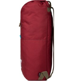 TOPO DESIGNS Red Trail Backpack Model Picture