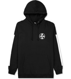 Stussy Black Worldwide Dot Hoodie Picture