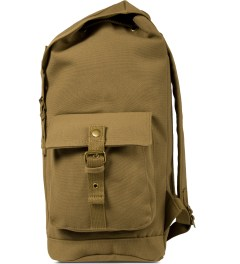 Carhartt WORK IN PROGRESS Hamilton Brown Tramp Backpack Model Picture