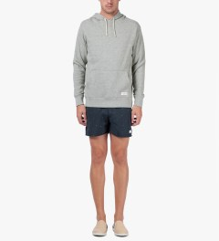 SATURDAYS Surf NYC Heather Grey Ditch Pullover Hoodie Model Picutre