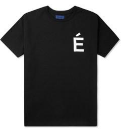 Études Studio Black Net Powder Slim Net S/S Crewneck T-Shirt Picutre