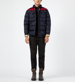 Penfield Navy Rockford Down Insulated Jacket Model Picture