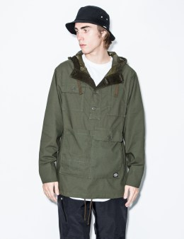 snow peak Olive Fire Protect Parka Picture