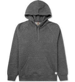 Carhartt WORK IN PROGRESS Dark Grey Heather Holbrook Hoodie Picutre