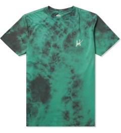 HUF Jade Small Script Crystal Wash T-Shirt Picutre
