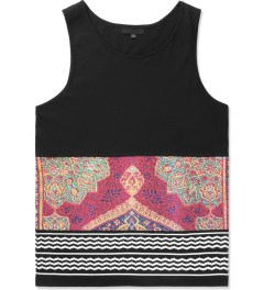 Black Scale Black Holy Land Tank Top Picture