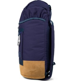 Puma BWGH x PUMA Dark Denim Camo Backpack Model Picture