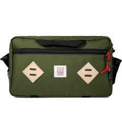 TOPO DESIGNS Olive Mini Mountain Bag Picture