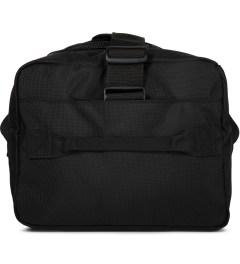DSPTCH Black Weekender Duffle Bag Model Picutre