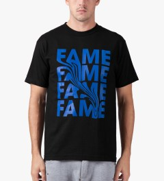 Hall of Fame Black Smear T-Shirt Model Picture
