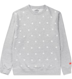 CLSC Heather Grey Stars Crewneck Sweater Picutre