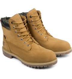 Black Scale Timberland x Black Scale Wheat 6-inch Premium Boots Model Picture