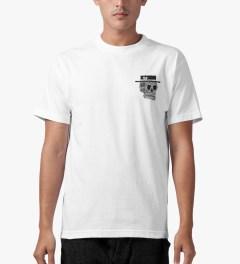 The Quiet Life White Skull T-Shirt Model Picutre