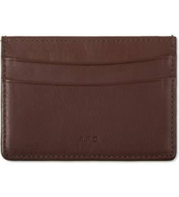 A.P.C. Brown Cardholder Picture