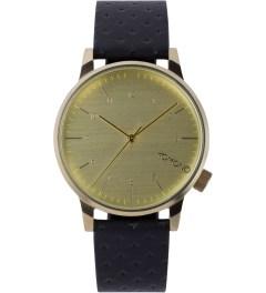 KOMONO Black Zirconium Winston Watch Picutre