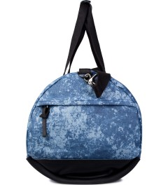 SATURDAYS Surf NYC Steel Blue Mineral Print Ruba Duffle Bag Model Picture