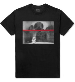 Black Scale Black Shanti Skull T-Shirt Picture