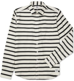 Grind London Black/White Stripe Shirt Picture