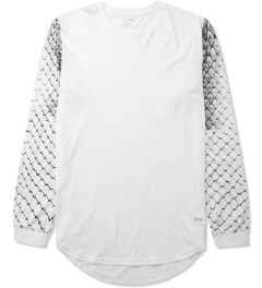 Stampd White Snake Skin L/S T-Shirt Picture