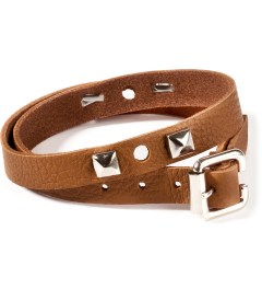 CASH CA Jam Home Made x CASH CA Camel Leather Studs Bracelet Picture