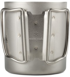 snow peak Titanium 300ml Double Wall Cup Model Picture
