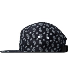 Carhartt WORK IN PROGRESS Jet/White Paisley Starter Cap Model Picture