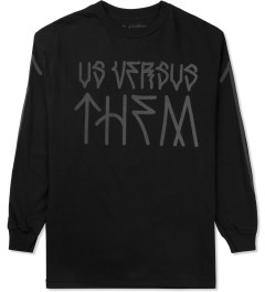 Us Versus Them Black Paulo L/S T-Shirt Picture