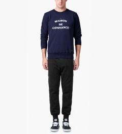 Bleu De Paname Noir SC Pants Model Picutre