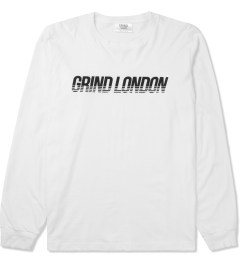 Grind London White Grind London L/S T-Shirt Picture