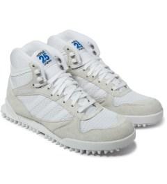 adidas Originals adidas Originals by NIGO White Marathon TR High Top Sneakers Model Picture