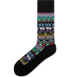 Henrik Vibskov Multicolor Print Helsinki Socks Picutre