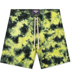 Lightning Bolt Sunny Lime Pelican II Tie-dye Boardshorts Picture