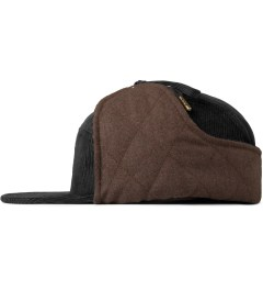 Benny Gold Black Fargo Dog Eared 5 Panel Cap Model Picture