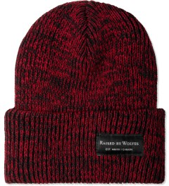 Raised by Wolves Red Marled Watch Cap Picture