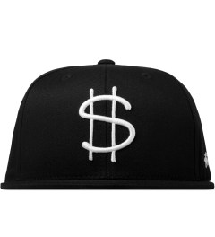 Stussy Black Money Snapback Cap Picutre