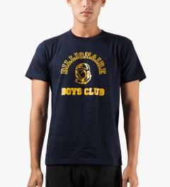 Billionaire Boys Club Navy Billionaire College Pop T-Shirt Model Picture