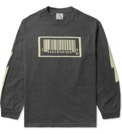 Rare Panther Charcoal RP Barcode L/S T-Shirt Picture
