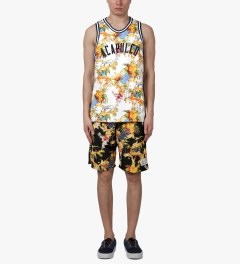 Acapulco Gold Black Palm Springs Basketball Shorts Model Picture