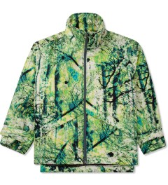 FACETASM Green Psychedelic Level 7 Jacket Picture