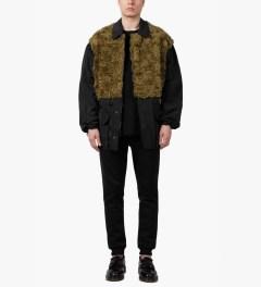 3.1 Phillip Lim Gold Tromp L'oeil Combo Panel Parka Jacket Model Picture
