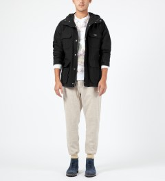 Penfield Black Kasson Mountain Parka Model Picture