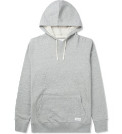 SATURDAYS Surf NYC Heather Grey Ditch Pullover Hoodie Picutre